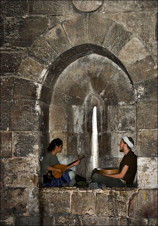 Musicians at Yaffa Gate