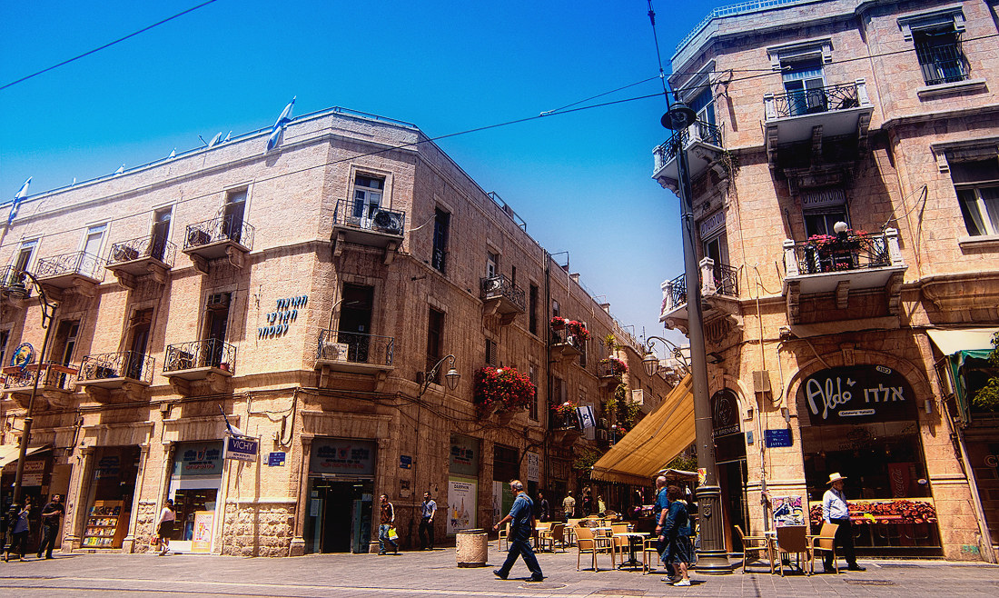 Jerusalem Walks: Yafo st.